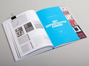 Arbeit der Grafikdesignerin Katrin Brüggemann