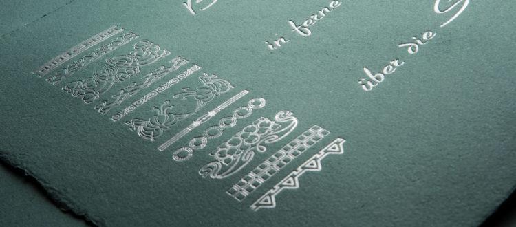 Das Bild Zeigt Einen Ausschnitt Des ARTLIT-Handpressendrucks Jean Paul