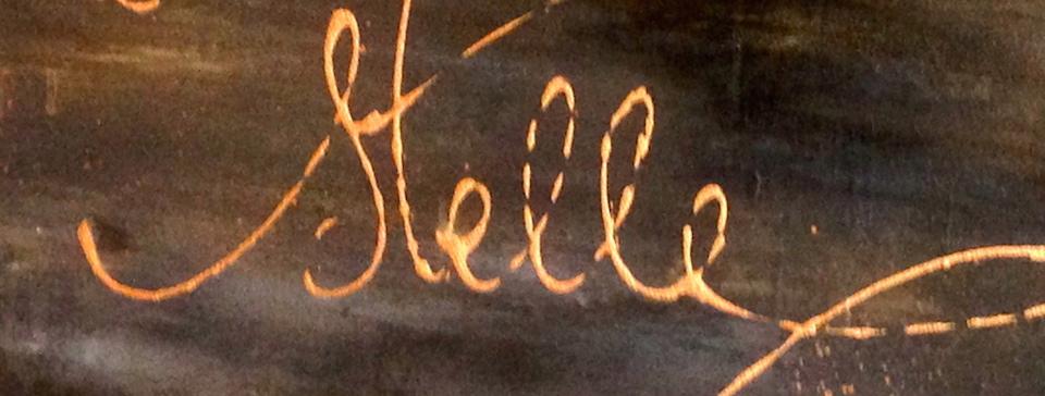 Ausschnitt Der ARTLIT-Kalligrafie